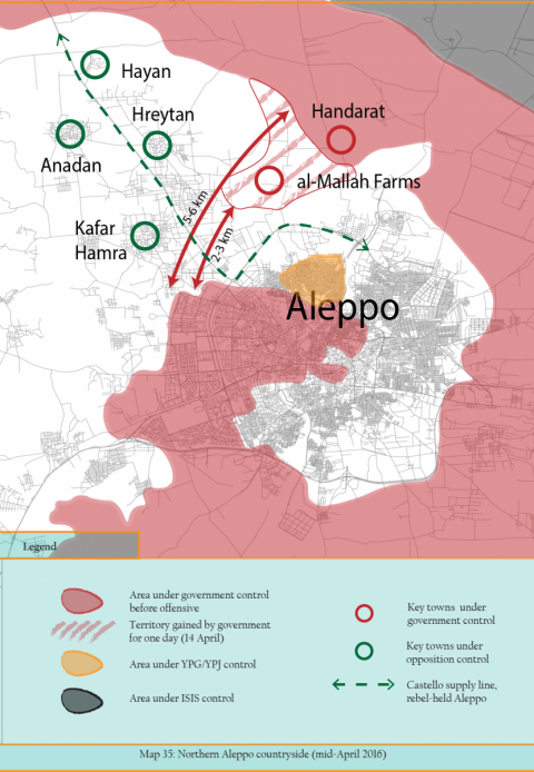 Aleppo Conflict Timeline Now Available Central European University - Aleppo map
