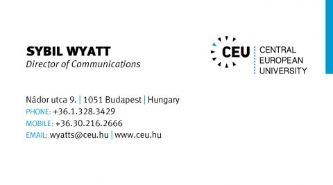 Ceu visual identity central european university ceu business card colourmoves