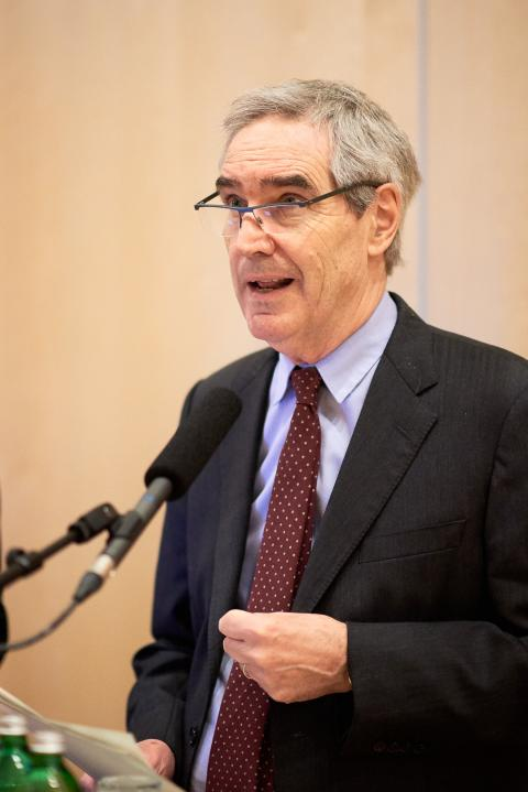 "CEU President and Rector Michael Ignatieff said ""CEU is part of the solution, not the problem.""  Image credit: CEU / Daniel Vegel"