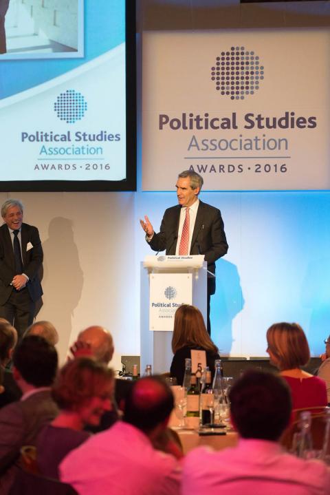 Michael Ignatieff receives PSA's International Recognition Award