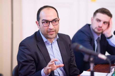 Zeljko Jovanovic, director of the Roma Initiatives Office at the Open Society Foundations - Image credit: CEU - Daniel Vegel