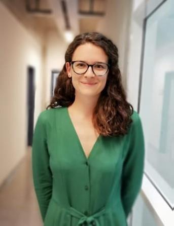 KAREN ELLINGER, student counsellor