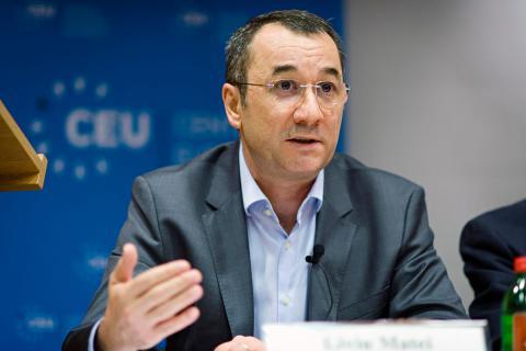 CEU Provost and Academic Pro-Rector Liviu Matei. Photo: CEU/Daniel Vegel.