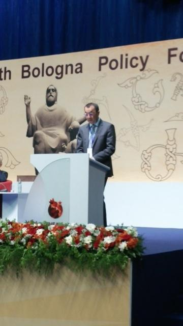 CEU Provost and Pro-Rector Liviu Matei assessed the current state of the Bologna Process and its future in a report for the Ministerial Conference of the European Higher Education Area on May 15 in Yerevan, Armenia.