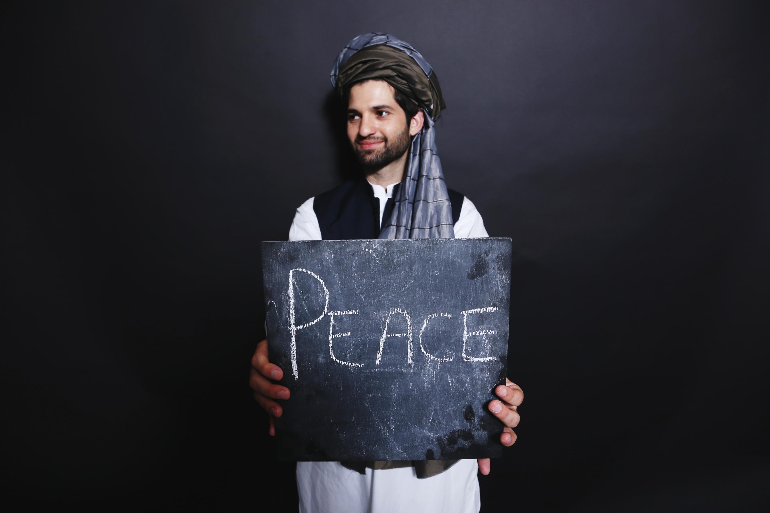 SPP student Ahmad Bashir at CEU International Cultural Festival, 2015. Image credit: CEU/Daniel Nemeth
