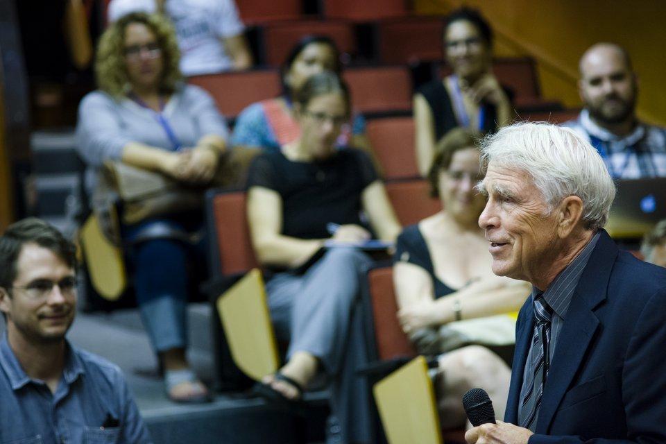Mark Juergensmayer at CEU Summer University
