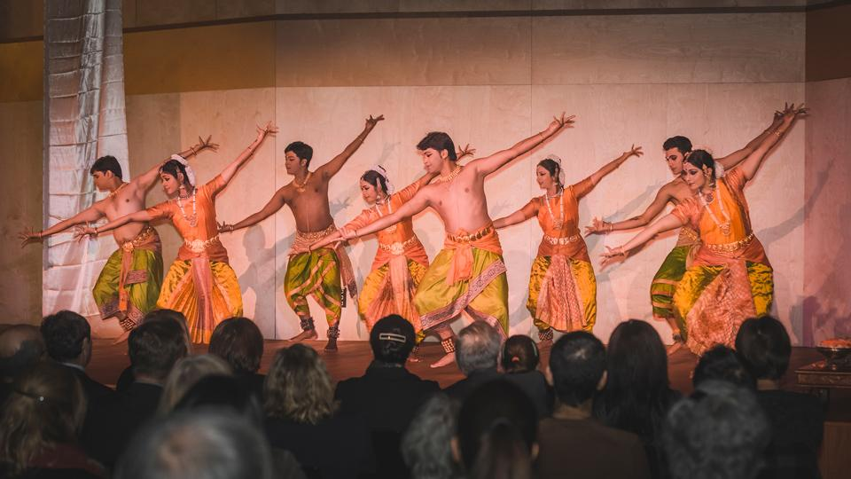 Bharatnatyam: A South Indian Classical Dance Performance. Image credit: Embassy of India, Budapest