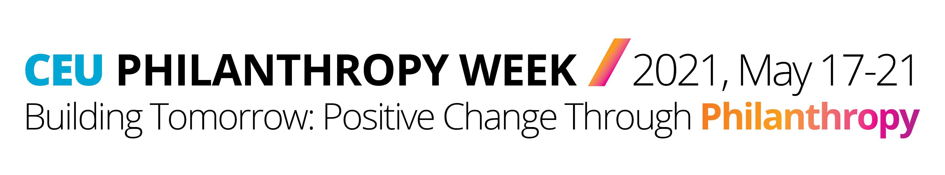 Philanthropy Week