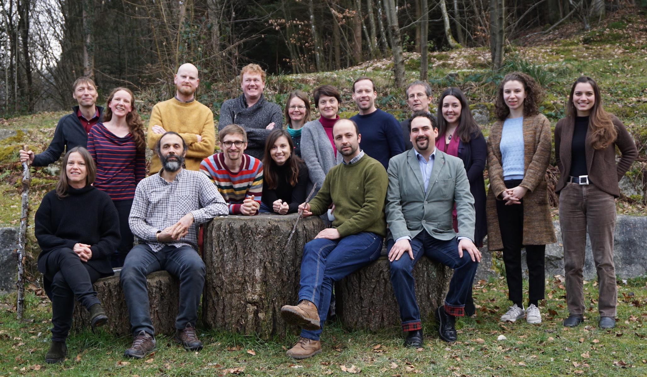 The UrbanA team gathers at its kickoff meeting. Image credit: UrbanA