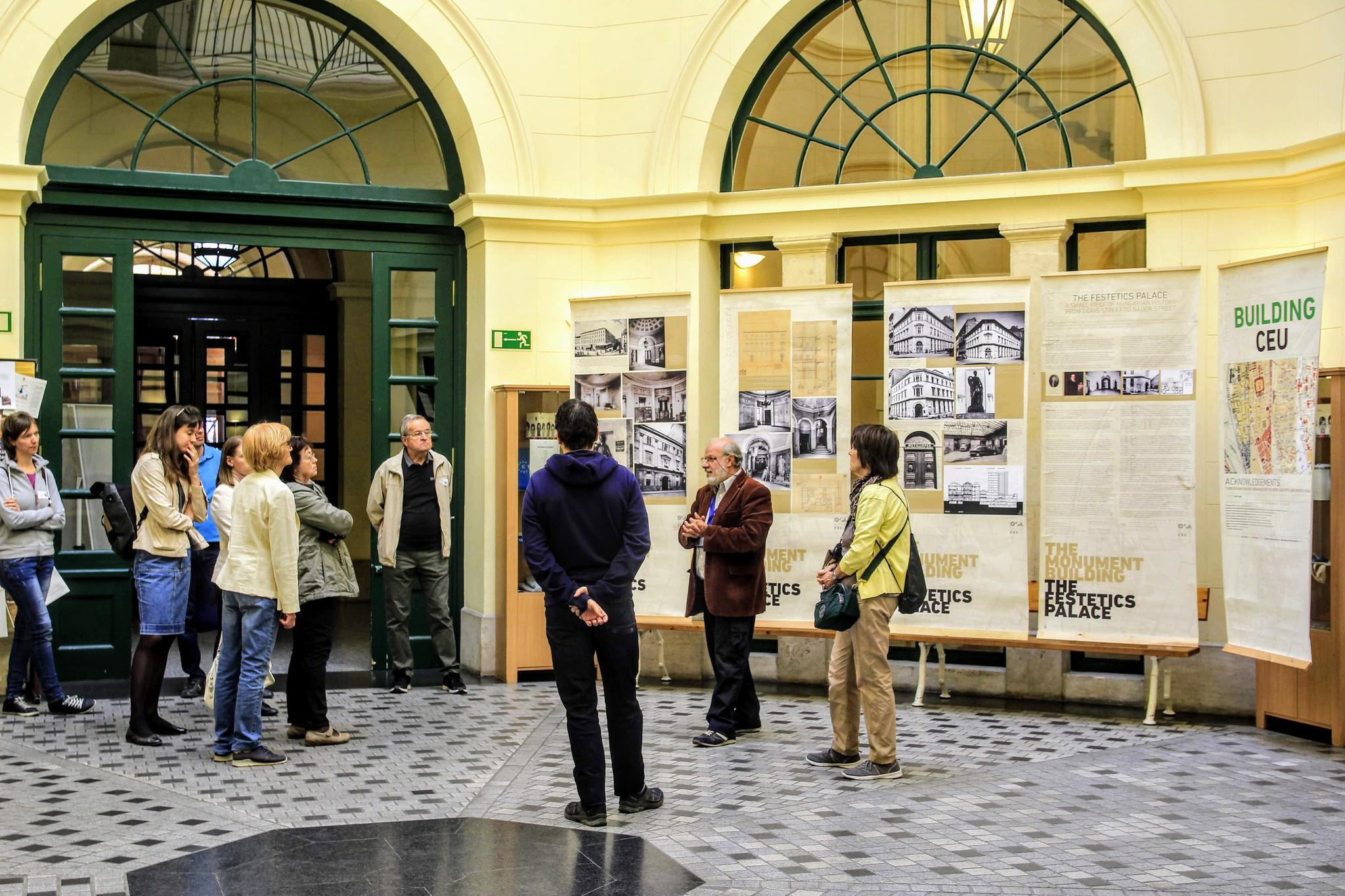 European Heritage Days at CEU – Photos: CEU/ Gulnoza Khasanova & Zsuzsanna Szalka