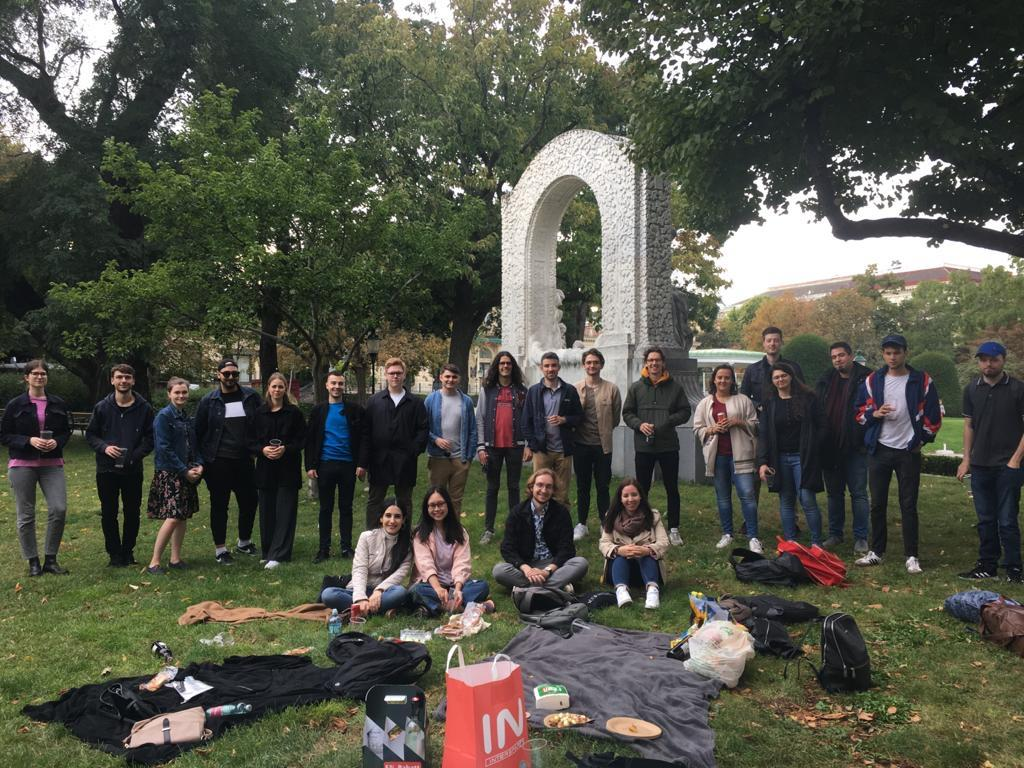 The picnic hosted by the Political Science Department
